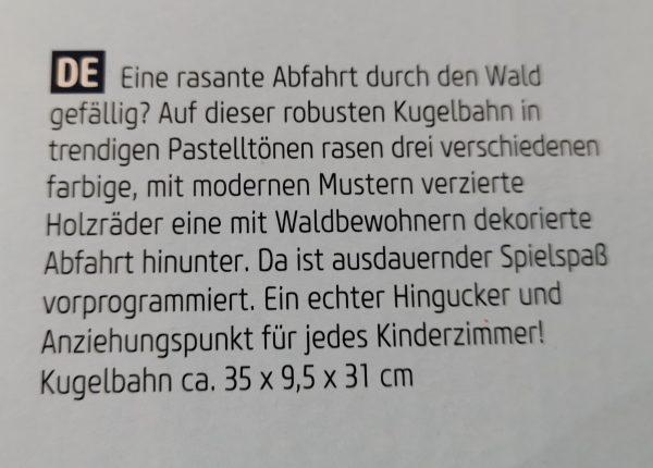 """Kugelbahn """"Pastell"""" 1"""