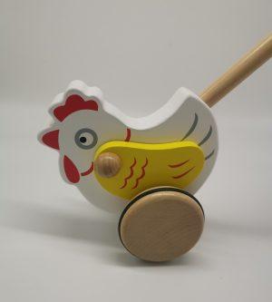 Schiebetier Huhn