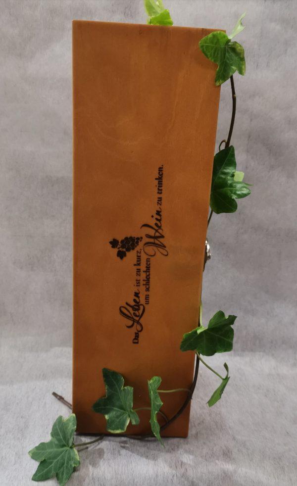 Weinbox aus Holz 1