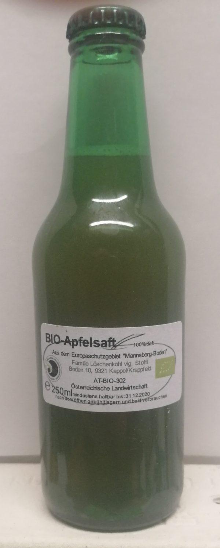 BIO-Apfelsaft 250ml 1