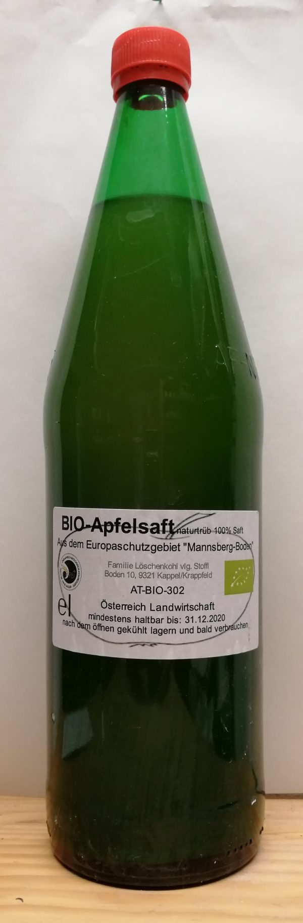 BIO-Apfelsaft 1l zzgl. €0,40 Pfand 1
