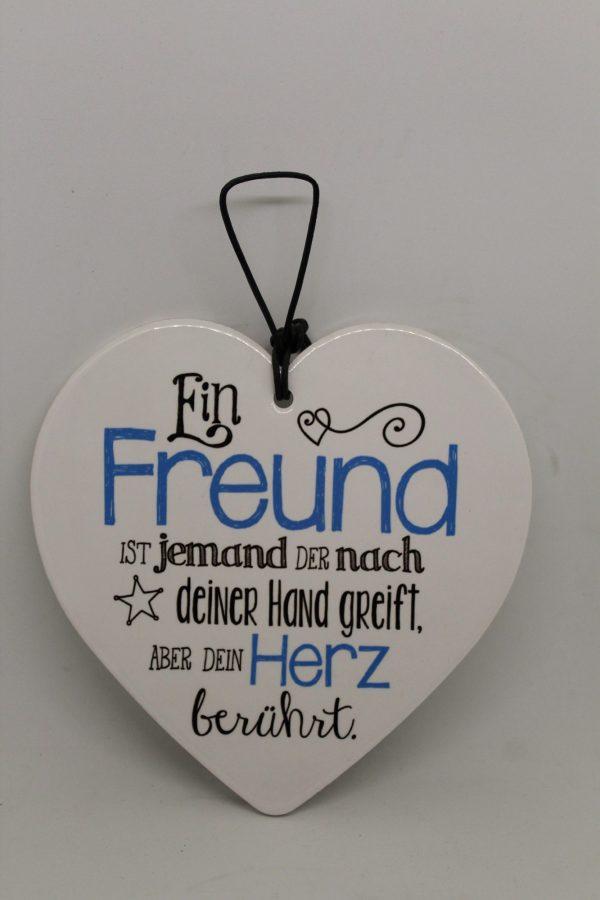 """Wandschmuck """"Freund"""" 1"""