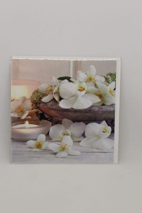 """Grußkarte """"Orchidee"""" 1"""