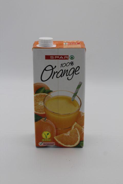 SPAR Orange 100% 1l 1