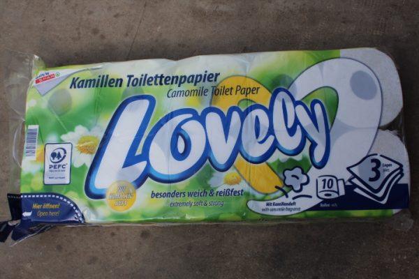 Lovely Toilettenpapier versch. Sorten 1