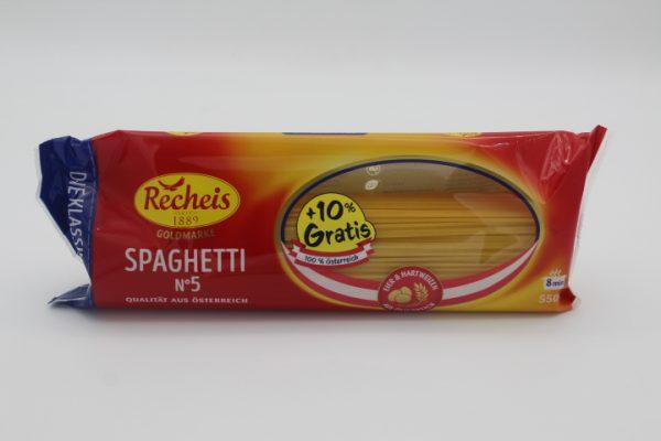 Recheis Goldmarke Spaghettinudel 1