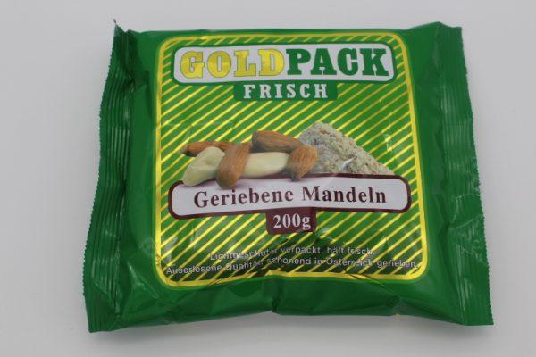 Goldpack Mandeln gerieben 1