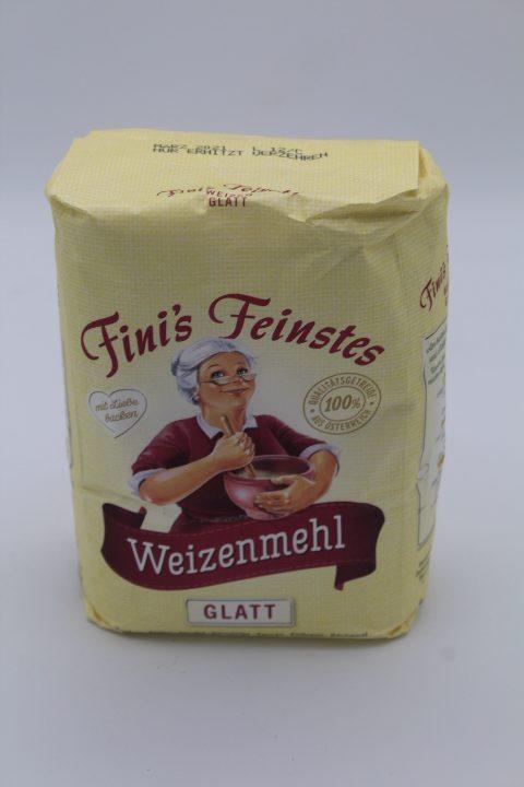 Finis feinstes Weizenmehl Glatt 1