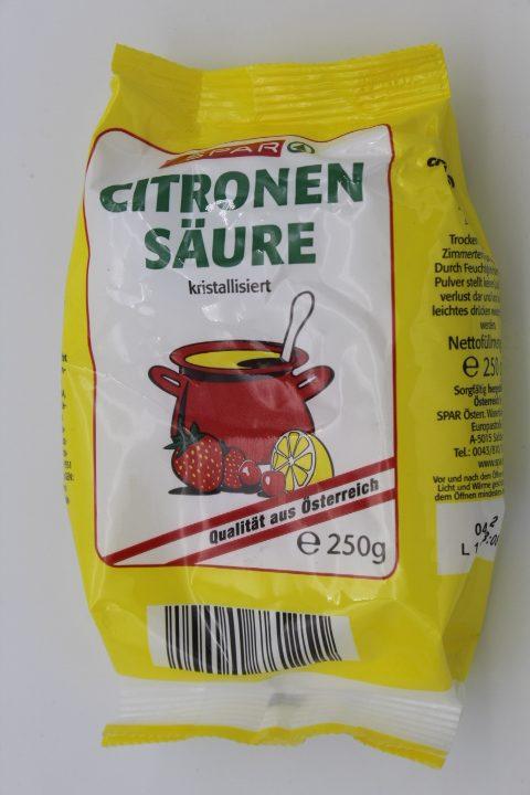 Spar Zitronensäure 1