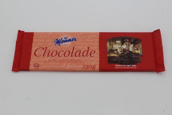 Manner Haushaltsschokolade 1