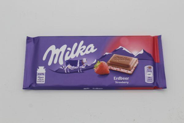 Milka Erdbeer 1