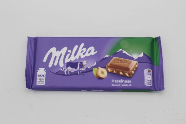 Milka Haselnuss 1
