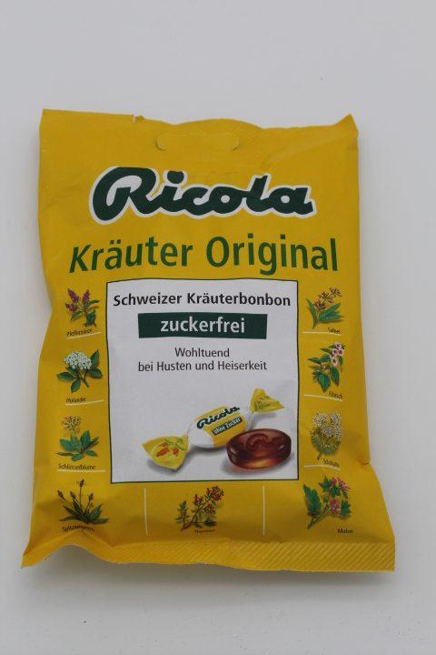 Ricola Kräuter original zuckerfrei 1