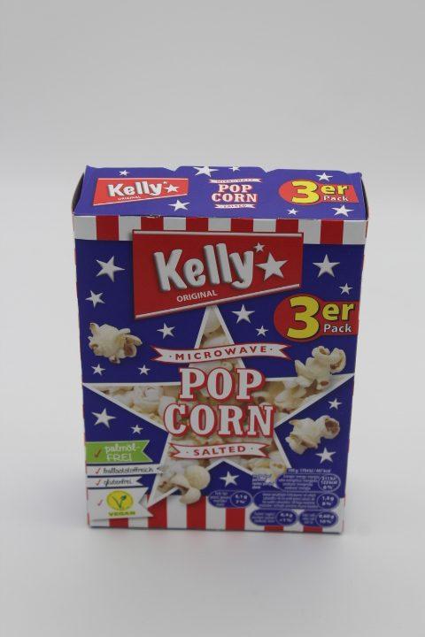 Kellys Mikrowellen Popcorn salzig 1
