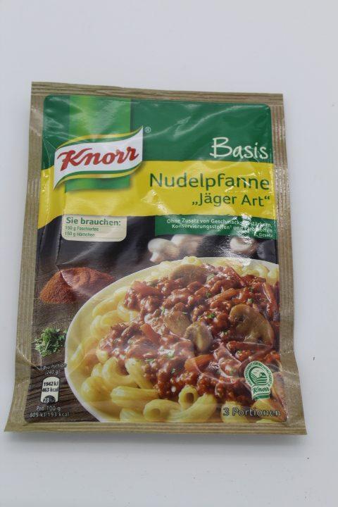 """Knorr Basis Nudelpfanne """"Jäger Art"""" 1"""