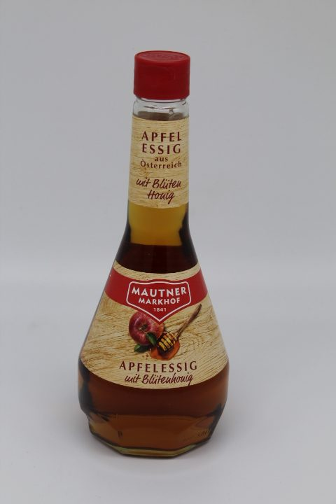 Mautner Apfelessig mit Honig 0,5l 1