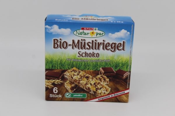 Spar Bio Schoko Riegel 6x25g 1