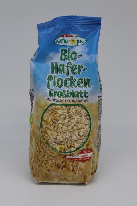 Spar Bio Haferflocken 1