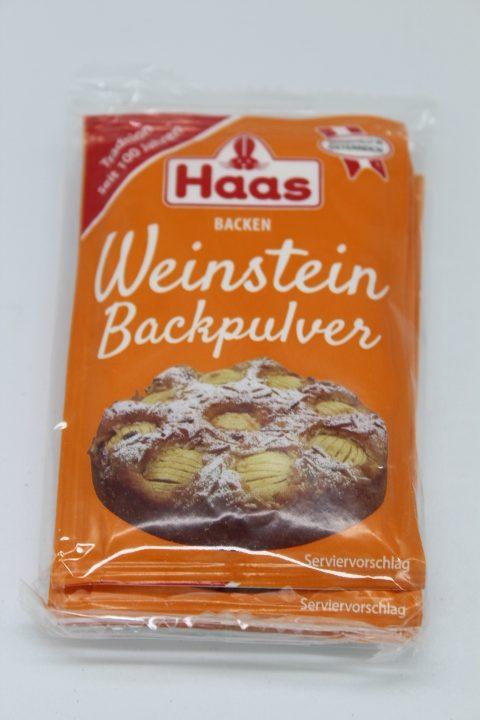 Haas Weinstein Backpulver 3er 1