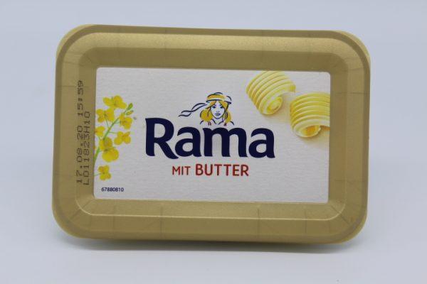 Rama mit Butter 1