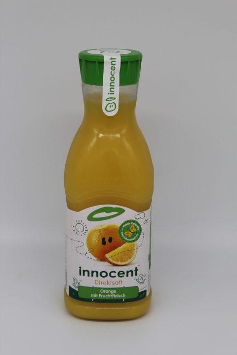 Innocent Orangensaft mit Fruchtfleisch 1