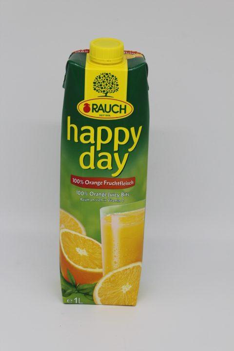 Happy Day Orangensaft mit Fruchtfleisch 1l 1