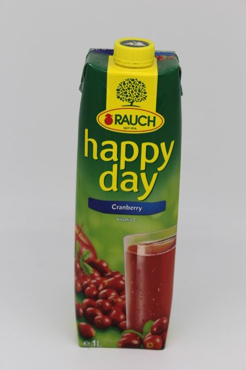 Happy Day Cranberry 1l 1