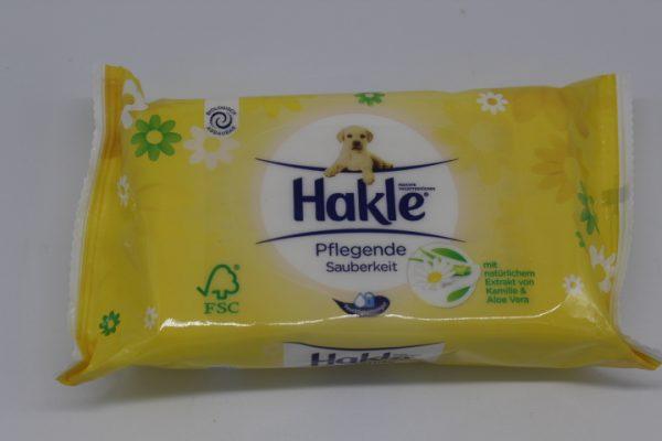 Hakle Feuchttücher Pflegende Sauberkeit 1