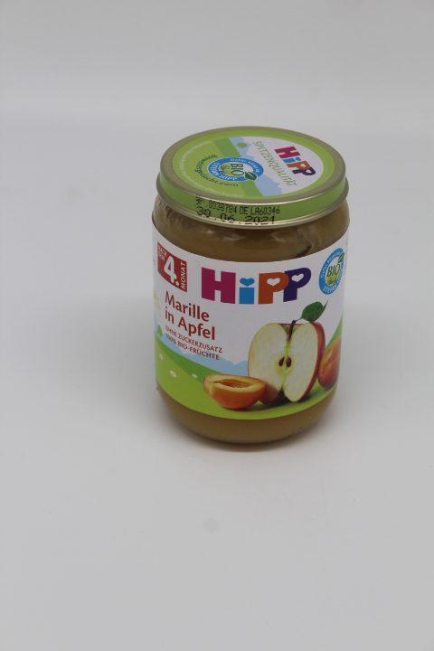 Hipp Marille in Apfel 1