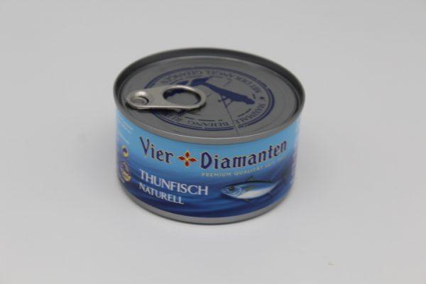 4 Diamanten Thunfisch Naturell 1