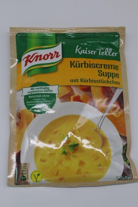 Knorr Kürbiscremesuppe 1