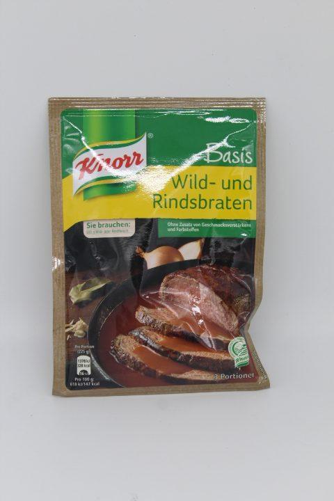 Knorr Basis Wild- und Rindsbraten 1