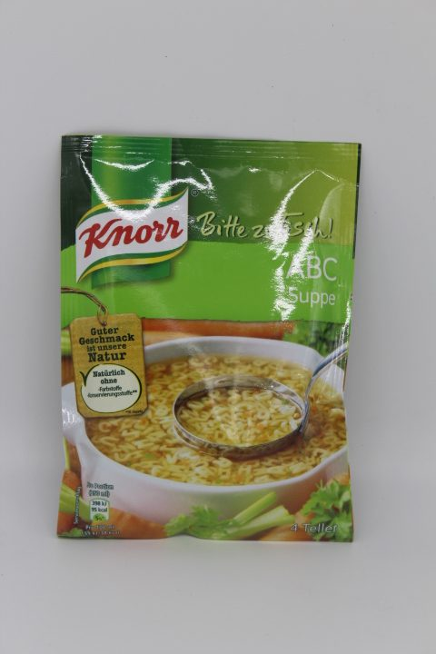 Knorr ABC Suppe 1