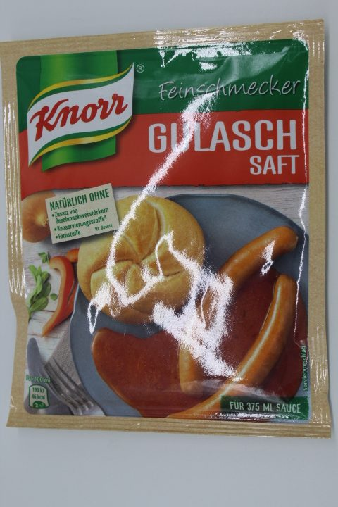 Knorr Gulaschsaft Sauce 1