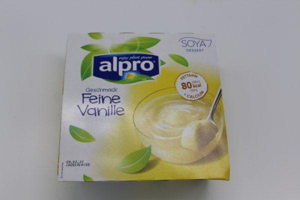 Alpro Sojadess. Vanille 4x125g 1