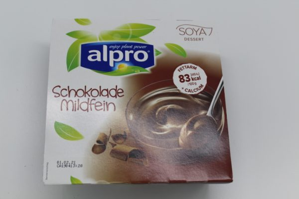 Alpro Sojadess. Schoko 4x125g 1