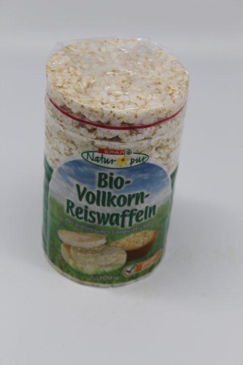 Spar Bio Reiswaffeln Vollkorn 100g 1