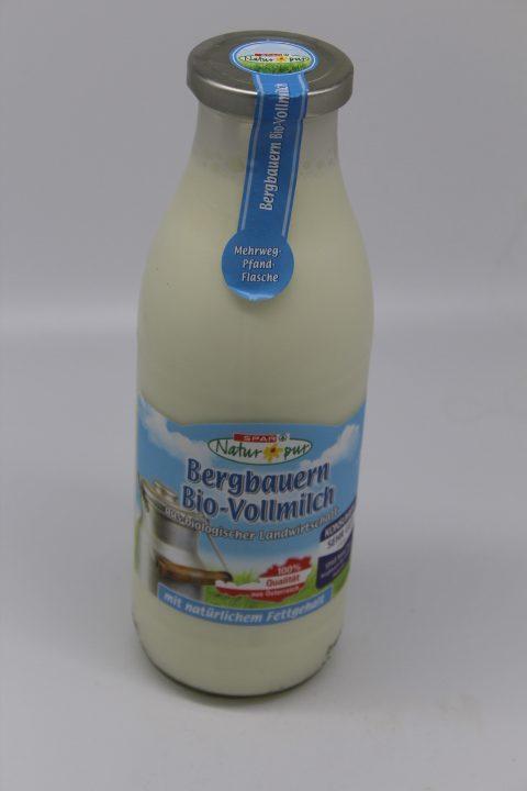 Spar Bio-Vollmilch 1L 1
