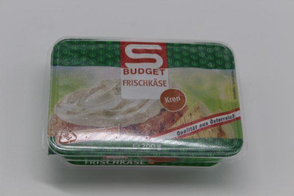 S-Budget Frischkäse Kren 1