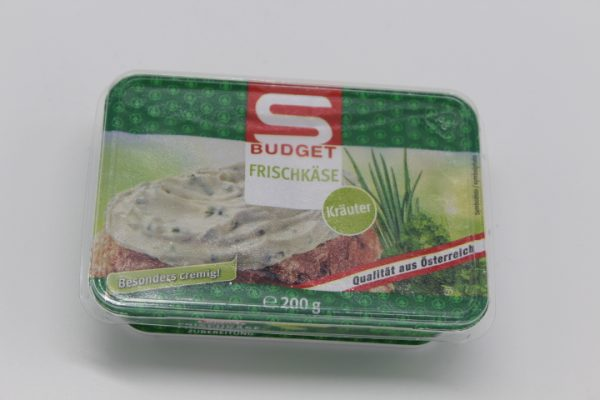 S-Budget Frischkäse Kräuter 1