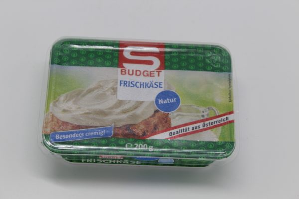S-Budget Frischkäse Natur 1