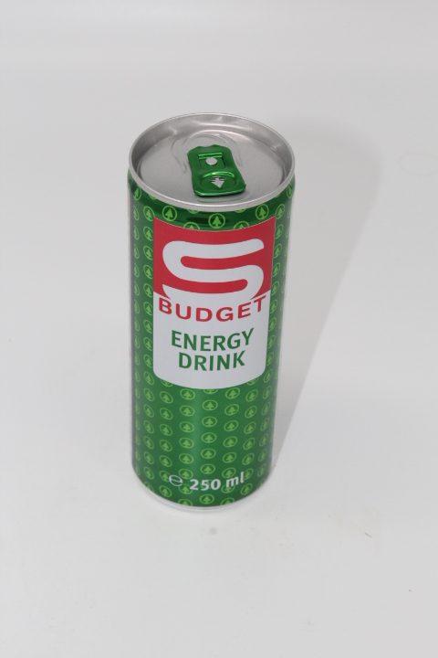 S-Budget Energydrink 0,25L 1