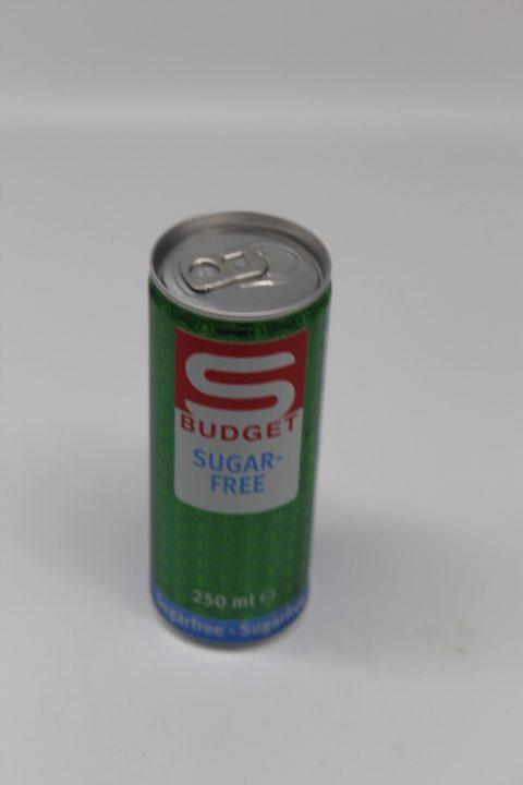 S-Budget Sugarfree 0,25L 1