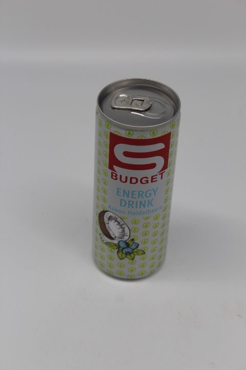 S-Budget Kokos Heidelbeere 0,25L 1