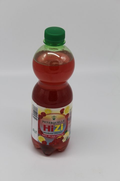 Peterquelle Himbeer-Zitrone 0,5L 1