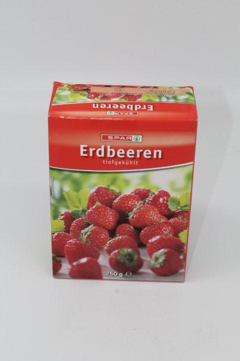 Spar Erdbeeren 250g 1