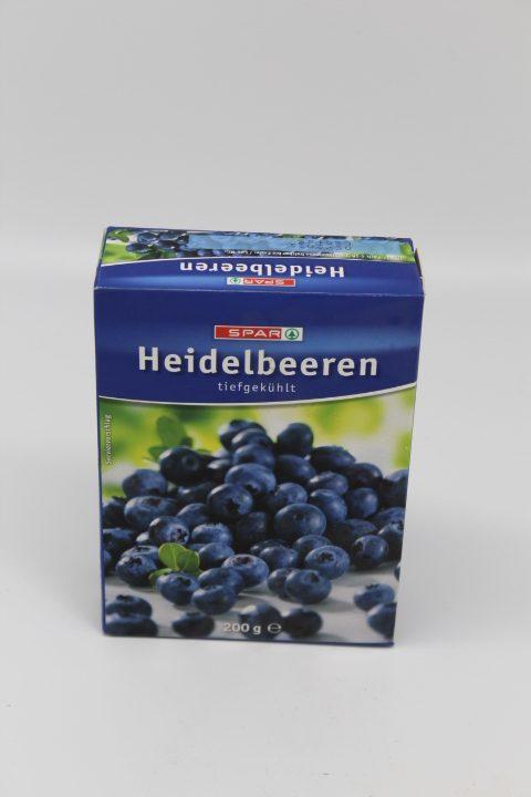 Spar Heidelbeeren 250g 1