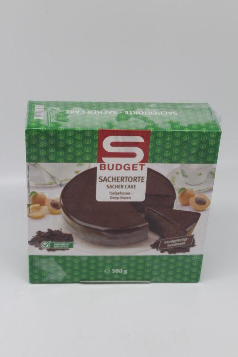 S-Budget Sachertorte 500g 1