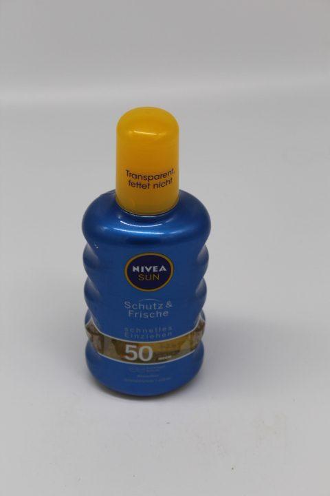 Nivea Sun Spray Frische LF50 1