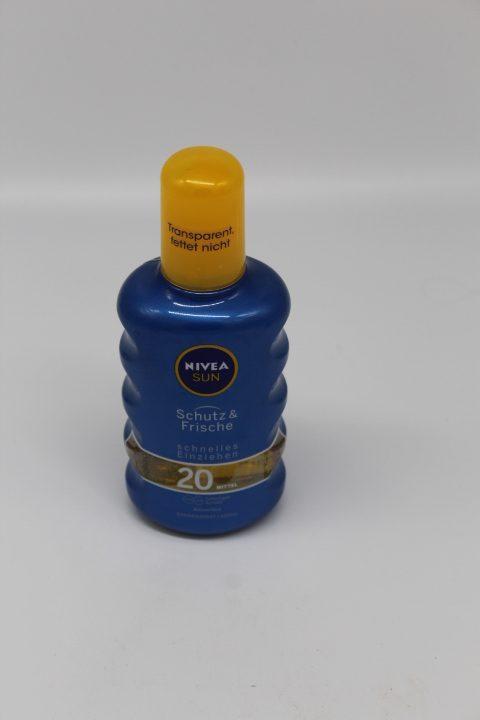 Nivea Sun Spray Frische LF20 1